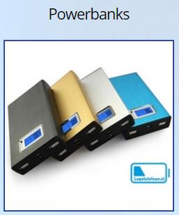 legetelefoon - Bedrukte powerbank