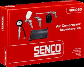 De Senco compressor is onmisbaar hier op het platteland